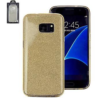 בחזרה perlecom לכסות Samsung Galaxy S7 זהב