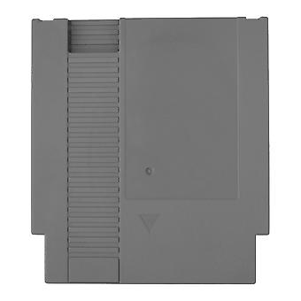 Compatible replacement game cartridge shell case for nintendo nes - grey