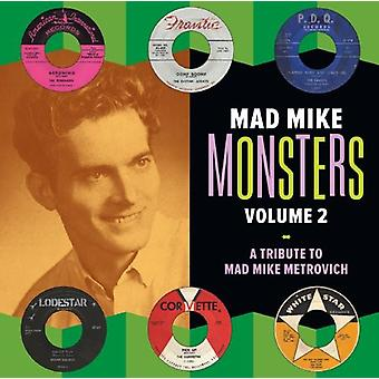 Mad Mike Monsters - Vol. 2-Mad Mike Monsters [Vinyl] USA import