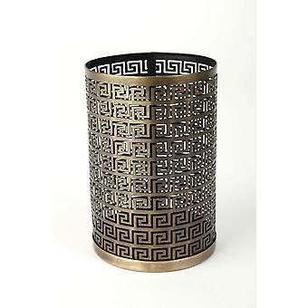 Lantern table Antique Gold H17 cm