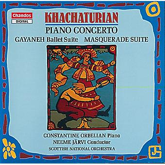 A. Khachaturian - Khachaturian: Piano Concerto; Gayaneh Ballet Suite; Masquerade Suite [CD] USA import