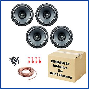 2 coppia PG audio EVO ho 16.2, 16cm dual Cone Speaker per diversi modelli di auto