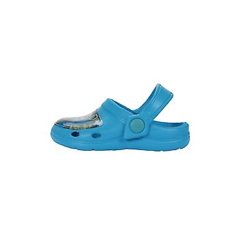 Boys Thomas The Tank Engine Slip On Beach Sandals Clogs Mules UK Sizes 5 to 10