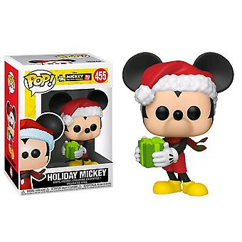 Mickey Mouse 90th Anniversary Holiday Mickey Pop! Vinyl