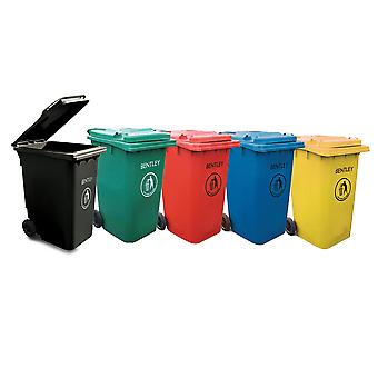 Bentley 240 Litre Wheelie Bin - Various Colours Available