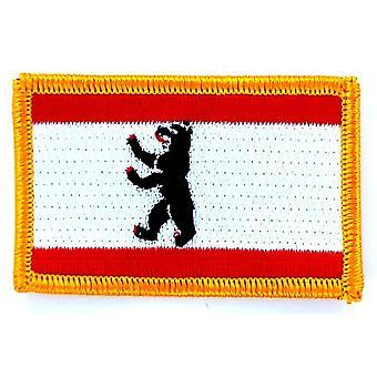 Aufnäher Ecusson Brode Flagge Berlin Deutschland Thermocollant Insigne Blason