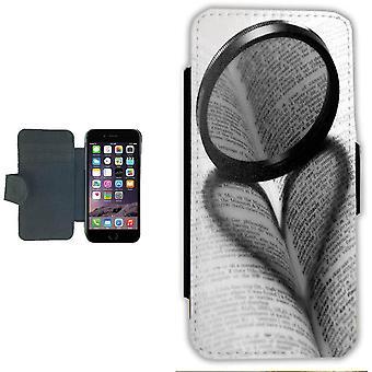 Liefde boek iPhone 7/8 Wallet Case geval foto portemonnee shell