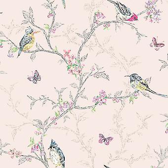 Phoebe Birds Wallpaper