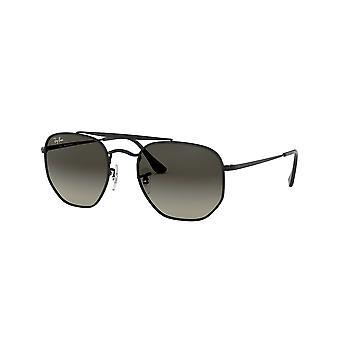 راي بان مارشال RB3648 002/71 الأسود / الرمادي النظارات الشمسية الخضراء