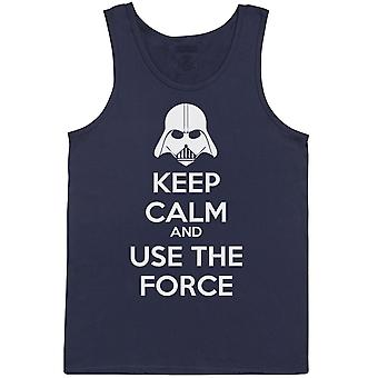 Keep Calm And Use The Force - Mens Vest