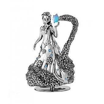 Disney By Royal Selangor 016310R Limited Edition Elsa Music Carousel