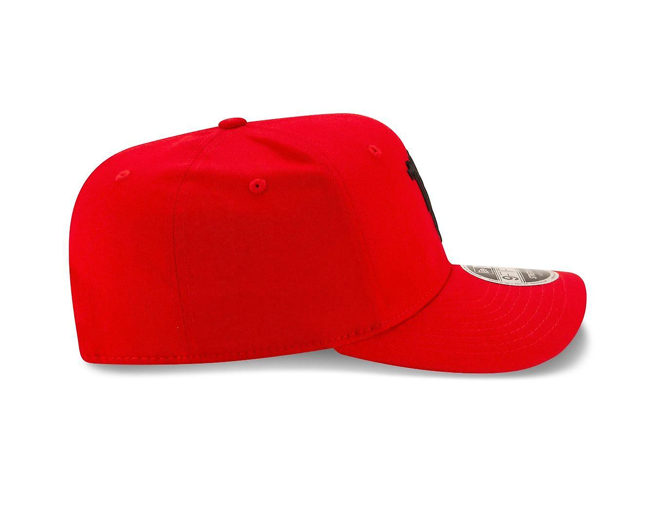 New Era Stretch Snap 9Fifty Cap ~ Manchester United red
