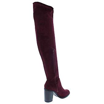 Bar III Womens Diandra Fabric Closed Toe Knee High Fashion Boots