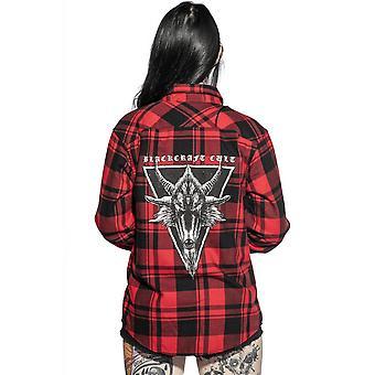 Blackcraft Cult Six Eyed Baphomet Flannel