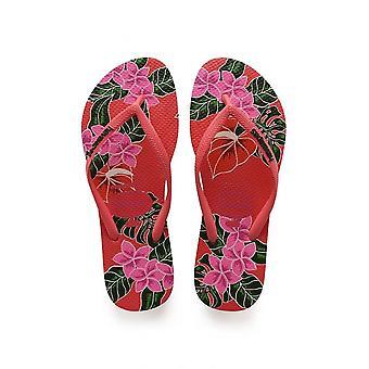 Havaianas Slim Floral Flat Flip Flop