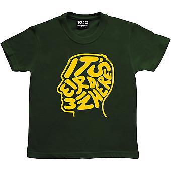 It apos;s Strano In qui Racing Green Kids' T-Shirt