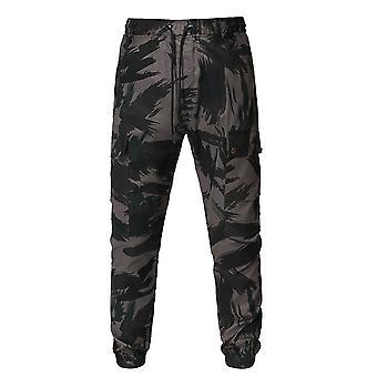 Allthemen Men-apos;s Casual Cool Sport Daily Drawstring Color Matching Capri-pantalons