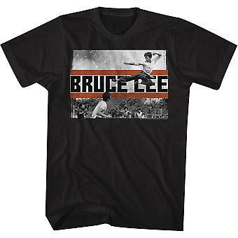 American Classics Bruce Lee Fly Kick T-Shirt - Black
