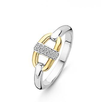 Ti Sento 12141ZY - ring carabiner Bi money ring colors Dor and bar e Pav