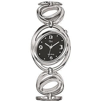Watch GB 694821 - steel black woman