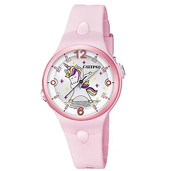 Titta Calypso K5784-1-SWEET tid R sine Pink Dial stylis Girl