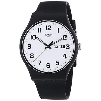 Swatch SUOB705 Unisex Black Plastic 41MM Quartz Orologio analogico