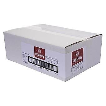 Renshaw PREMIUM Covering Paste Ready To Roll Fondant Vereisung Sugarpaste 5KG WHITE