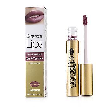 Grande Cosmetics (grandelash) Grandelips Plumping Liquid Lipstick (semi Matte) - # Vintage Rose - 4g/0.14oz