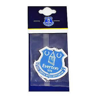 Everton FC Official Football Crest Car Air Freshener