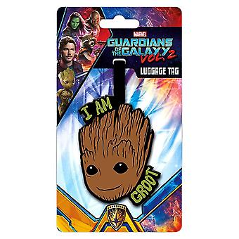 Guardians of the Galaxy Groot Luggage Tag