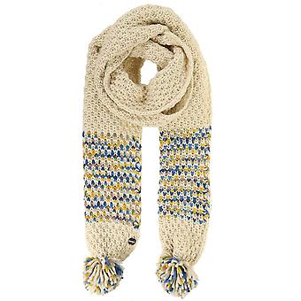 Regatta Women's Frosty III Pom Pom Scarf Light Vanilla One Size