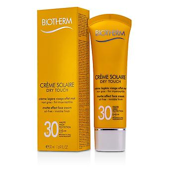 Creme solaire spf 30 dry touch uva/uvb matte effect face cream 168366 50ml/1.69oz