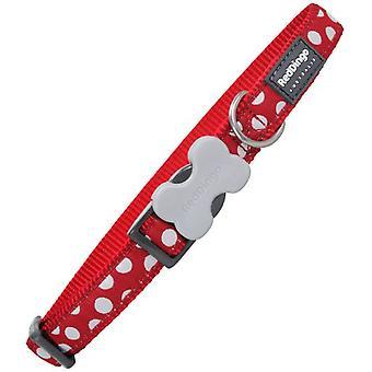 Red Dingo Adjustable Collar 60cm 40 x 25mm