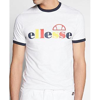 Ellesse Limora White Marl Cotton T-shirt