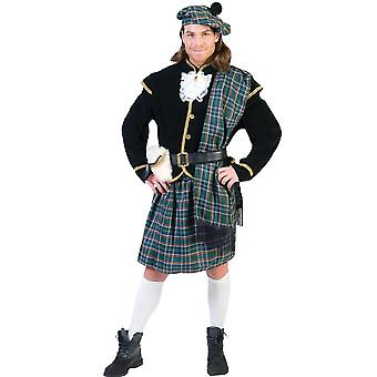 Scottish Man Adult Costume