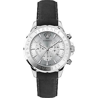 Versace Wristwatch Men's Chrono Signature Quartz Chronograph Date VEV600119
