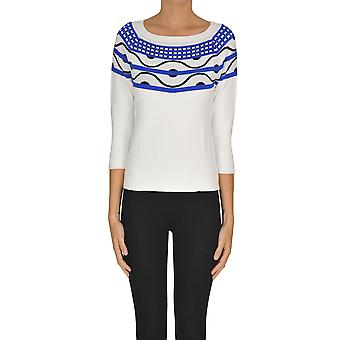 Nenette Ezgl266122 Women's White Viscose Sweater