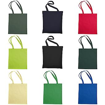 """Jassz Bags """"Beech"""" Cotton Large Handle Shopping Bag / Tote (Pack of 2)"""