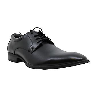 Alfani Miehet's Andrew Black Plain Toe Derbys Oxford Kenkä 9M