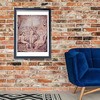 William Blake - Beneath the Tree Poster Print Giclee