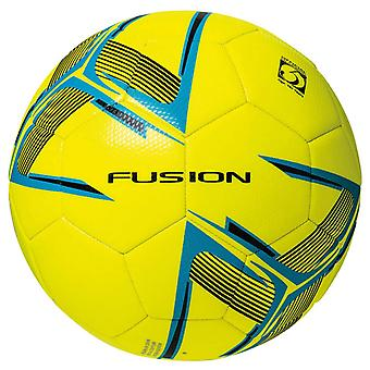 Precision Fusion Recreational Match Training Football Ball Yellow/Blue/Black