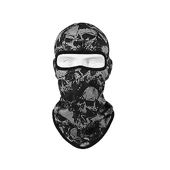 Balaclava with Skull Pattern