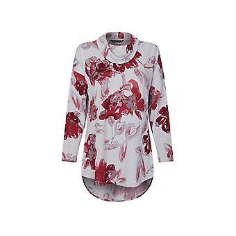 VIZ-A-VIZ Floral Print Tunic