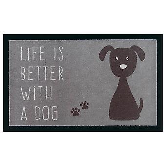 Chien de tapis de saleté de paillasson lavable et chien de mat de chien et Motifs de chat 45x75 cm