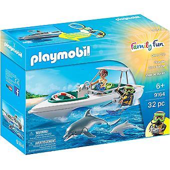 Viaje de buceo en la diversión familiar Playmobil 9164