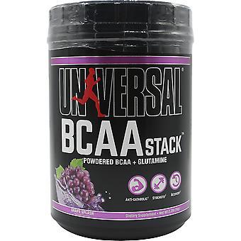 Universal Nutrition BCAA Stack Dietary Supplement - 100 Servings - Grape Splash