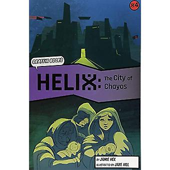 Helix - The City of Chayos (Graphic Reluctant Reader) by Jamie Hex - 9