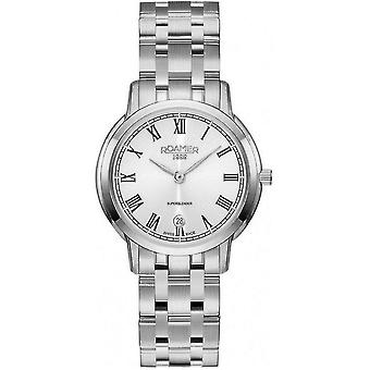 Roamer mens watch of classic line ladies Superslender 515811 41 22 50