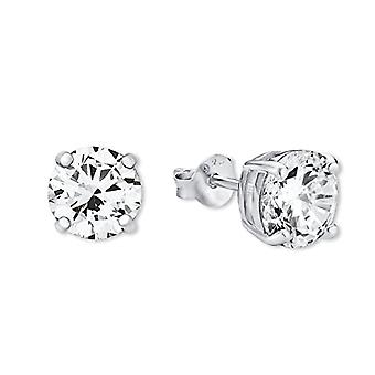 Amor ? Women's earrings in silver 925 rhodium with white zircons ? 445511