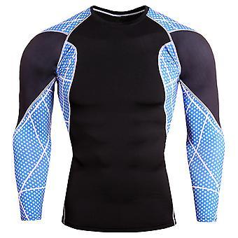 Allthemen Men's Colorblocked Quick-Drying Sport Topit